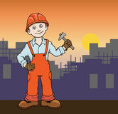 Construction worker Royalty Free Stock Image