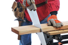 Construction Worker Cutting Board Stock Image