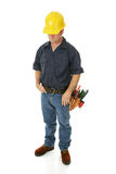Construction Worker Depressed Royalty Free Stock Photos
