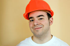 Construction Worker Guy Stock Image
