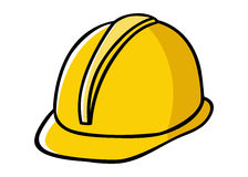 Construction Worker Hard Hat Stock Photo