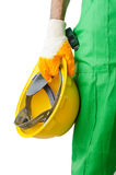 Construction worker isolated Stock Photography