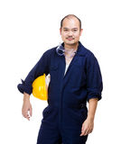 Construction worker isolated Royalty Free Stock Images