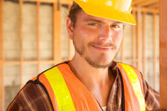 Construction Worker on the job Royalty Free Stock Photo
