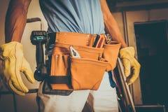 Construction Worker Job stock image