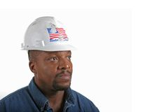 Construction Worker Looking stock photos
