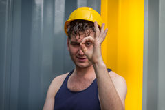Construction Worker Man Royalty Free Stock Image