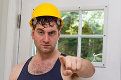 Construction Worker Man Royalty Free Stock Photography