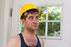 Construction Worker Man Royalty Free Stock Photo