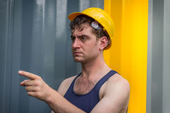Construction Worker Man Royalty Free Stock Images