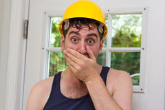 Construction Worker Man Stock Photography
