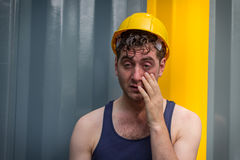 Construction Worker Man Stock Images