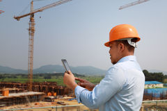 Construction worker Royalty Free Stock Images