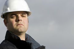 Construction Worker Portrait Stock Photos