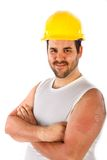 Construction Worker Portrait Royalty Free Stock Photography
