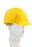A construction worker's hard hat Royalty Free Stock Photos