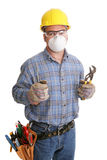 Construction Worker Safety Royalty Free Stock Photos