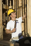 Construction Worker On Site Royalty Free Stock Photo