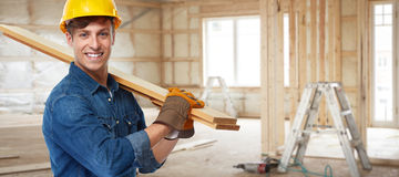 Construction worker. royalty free stock image