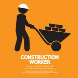 Construction Worker. Construction Worker Vector Illustration EPS10 Royalty Free Stock Photo