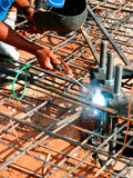 Construction worker - Welder Stock Image