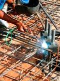 Construction worker - Welder. A welder a construction worker Stock Image