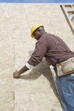 Construction Worker At Work Royalty Free Stock Images