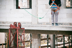 Construction worker working Royalty Free Stock Photography