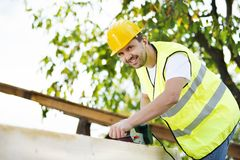 Construction worker Stock Image