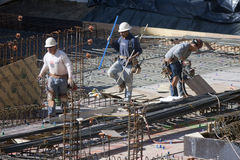 Construction Workers Royalty Free Stock Image