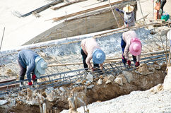 Construction workers. Royalty Free Stock Photography