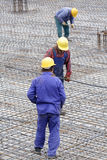 Construction workers Royalty Free Stock Photography