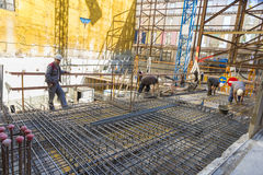 Construction workers Royalty Free Stock Images