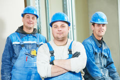 Construction workers Stock Photography