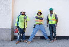 Construction Workers, Los Angeles, California
