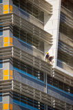 Construction workers on new building Royalty Free Stock Photography