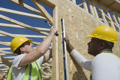 Construction Workers Working Together Royalty Free Stock Photo