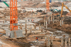 Construction works Royalty Free Stock Photography