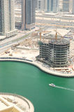 Construction works in Dubai Royalty Free Stock Image