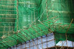 Construction works in Hong Kong Royalty Free Stock Photos