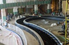 Construction works, interior finishing Royalty Free Stock Image