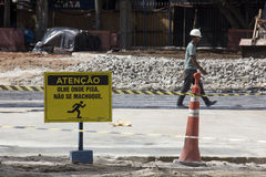 Free Construction Works Of The Rio Metro To The Olympics 2016 Royalty Free Stock Photo - 67272045