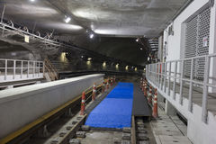 Construction works of the Rio Metro to the Olympics 2016 Royalty Free Stock Image