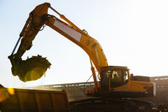 Construction works Royalty Free Stock Images