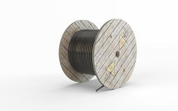 Construction wrapped rope Stock Photography