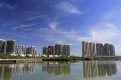 Construction wuyuanwan living area Stock Photo