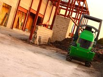 Construction Yard royalty free stock photography