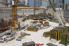 Construction yard Royalty Free Stock Images