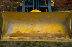 Construction Zilker Park Front Loader big Royalty Free Stock Photography