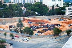 Construction zone Royalty Free Stock Photos